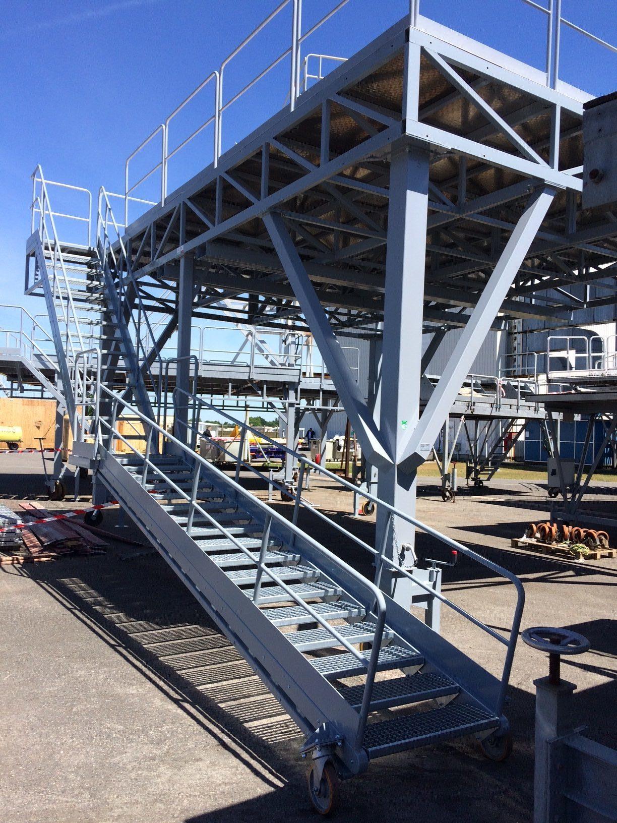Dock et escalier