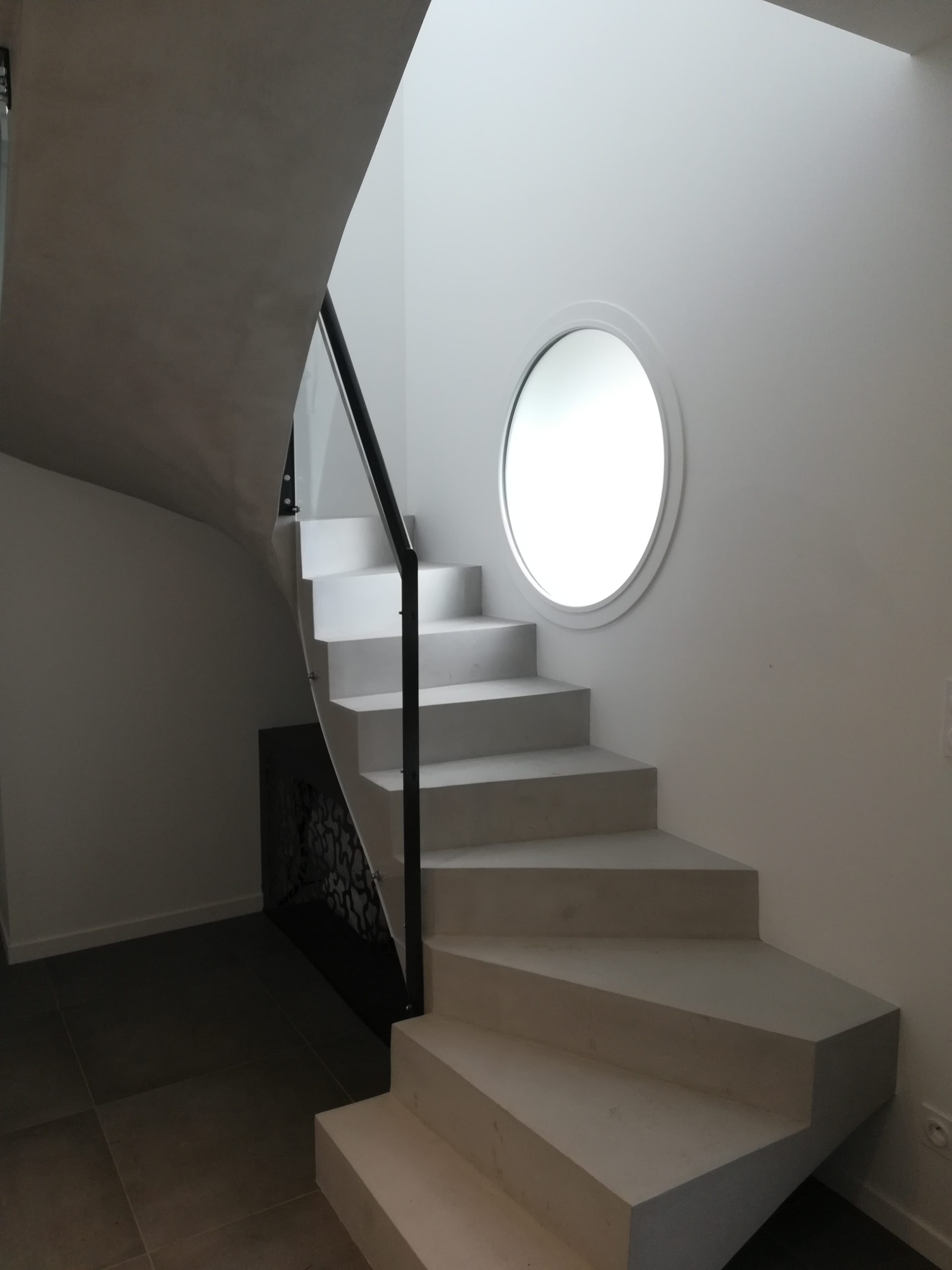 Escalier Design Plexiglass / Métal