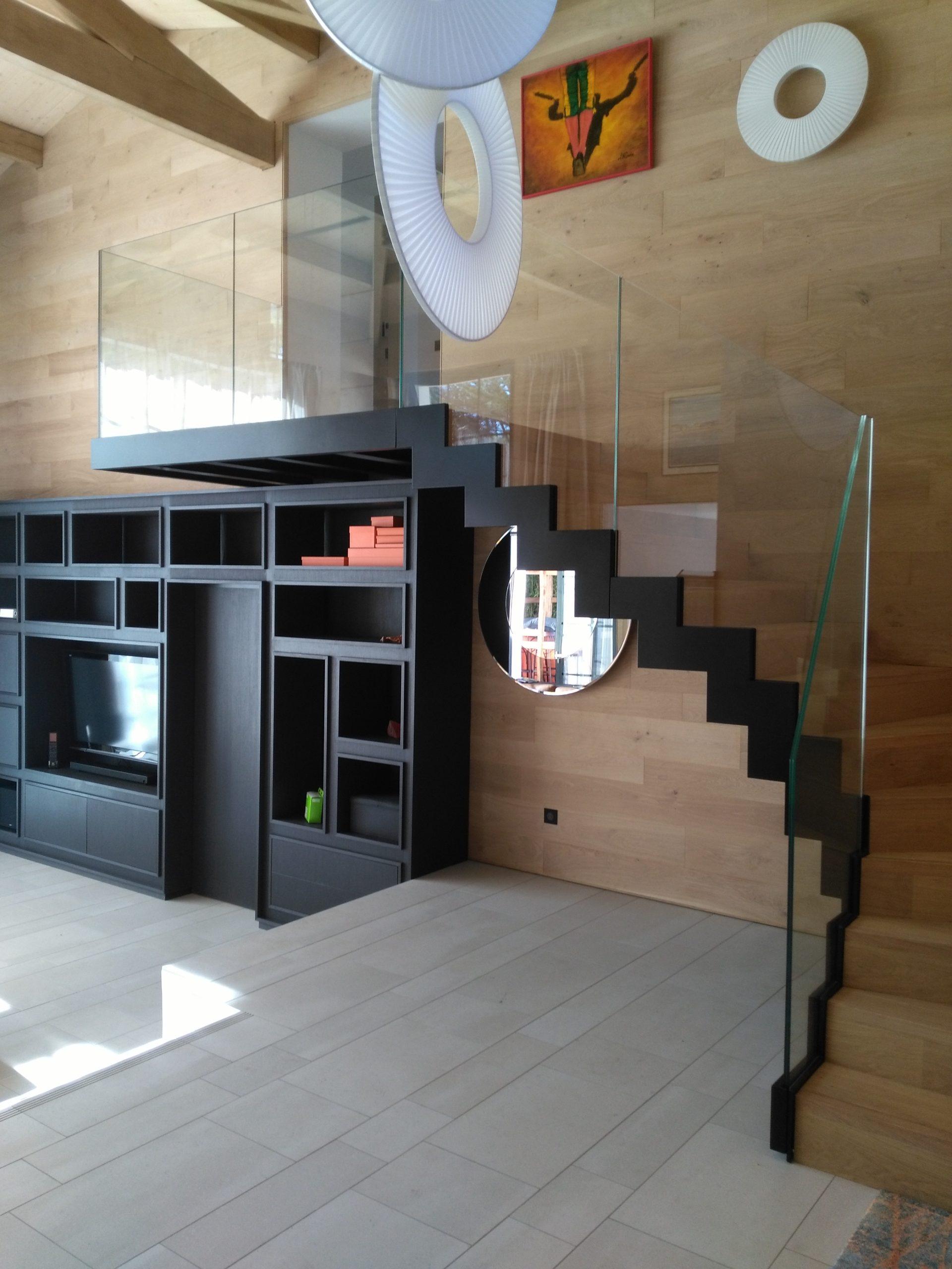 Vue d'ensemble Escalier Design